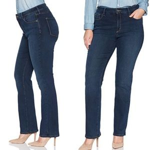 NYDJ - Marilyn Straight Leg Lift-Tuck Jeans - 18W